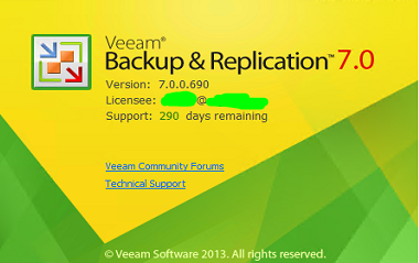 Veeam Backup & Replication 7 0 R2 update – Blog di Mario Serra