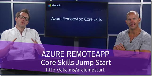 AZURE RemoteApp JS